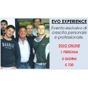 Evo Experience - 1 pers. - 3 g.