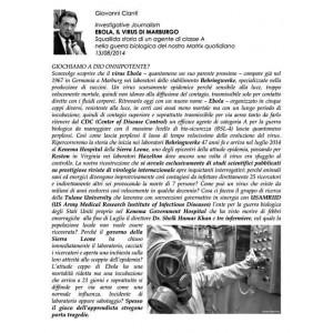 Ebola, il virus di Marburgo