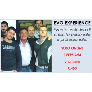 Evo Experience - 1 pers. - 2 g.