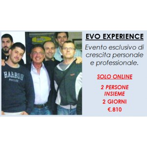Evo Experience - 2 pers. - 2 g.