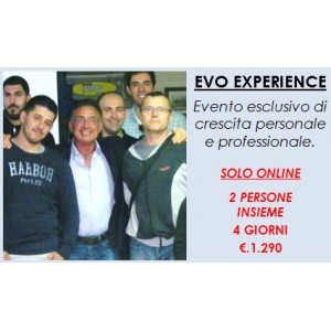 Evo Experience - 2 pers. - 4 g.